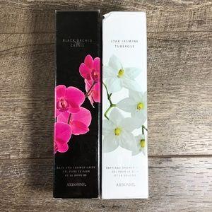 Arbonne shower Gel TWO sealed pkgs Jasmine Orchid